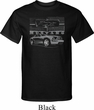 Ford Mustang with Grill Mens Tall Shirt