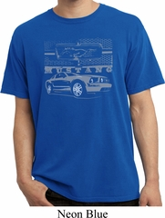 Ford Mustang with Grill Pigment Dyed Shirt