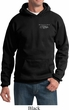 Ford Mustang with Grill Pocket Print Hoody