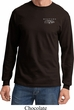 Ford Mustang with Grill Pocket Print Long Sleeve Shirt