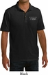 Ford Mustang with Grill Pocket Print Mens Pique Polo Shirt