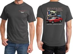 Ford Mustangs Untamed Front & Back Shirts