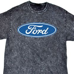 Ford Oval Adult Mineral Tie Dye Shirt