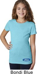 Ford Oval Bottom Print Kids Ford Shirts