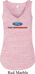 Ford Performance Parts Ladies Flowy V-neck Tanktop