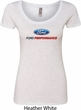 Ford Performance Parts Ladies Scoop Neck Shirt