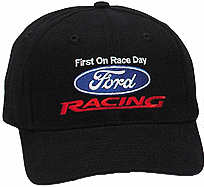 9db15999fa6494 Ford Racing Hat - Two Tone Fine Embroidered Logo Adjustable Cap ...