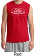 Ford Shirt Distressed An American Classic Adult Muscle Shirt