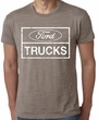 Ford Shirt Distressed Ford Trucks Mens Burnout Tee T-Shirt