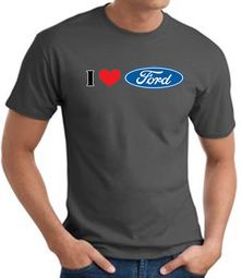 Ford Shirts - I Love Ford