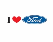 Ford T-Shirts - I Love Ford