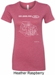 Ford Tee Engine Parts Ladies Longer Length Shirt