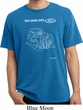 Ford Tee Engine Parts Pigment Dyed T-Shirt