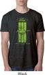 Ford Tee Green Mustang Stripe Burnout Shirt