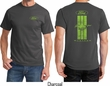 Ford Tee Green Mustang Stripe (Front & Back) T-shirt