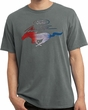 Ford Tee Mustang Red White and Blue Pigment Dyed Shirt