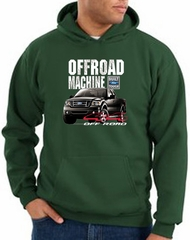 Ford Truck Hoodie F-150 4X4 Offroad Machine Dark Green Hoody