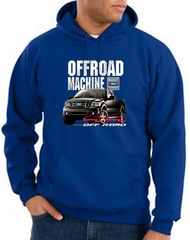Ford Truck Hoodie F-150 4X4 Offroad Machine Royal Hoody