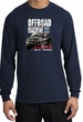 Ford Truck Long Sleeve Shirt - F-150 4X4 Offroad Machine Navy T-Shirt