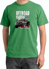 Ford Truck Pigment Dyed T-Shirt - F-150 4X4 Offroad Piper Green Tee