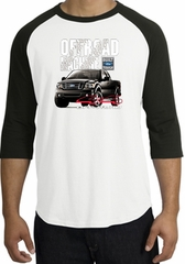 Ford Truck Raglan Shirt - F-150 4X4 Offroad Machine Adult White/Black