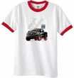 Ford Truck Ringer T-Shirt - F-150 4X4 Offroad Machine White/Red Tee