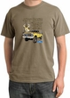 Ford Truck Shirt Driving and Tagging Bucks Pigment Dyed Tee Sandstone