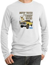 Ford Truck Shirt Driving and Tagging Bucks Thermal Shirt