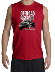 Ford Truck Shooter Shirt - F-150 4X4 Offroad Machine Red Muscle Shirt
