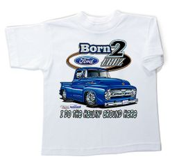 Ford Truck T-Shirt - Born 2 Cruz Children's White Tee