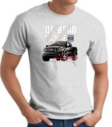 Ford Truck T-Shirt - F-150 4X4 Offroad Machine Adult Ash Tee Shirt