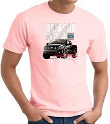 Ford Truck T-Shirt - F-150 4X4 Offroad Machine Adult Pink Tee Shirt