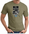 Ford Truck T-Shirt - F-150 Truck Adult Army Green Tee Shirt