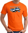 Ford Truck T-Shirt - Man's Best Friend Adult Orange Tee Shirt