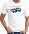 Ford Truck T-Shirt - Man's Best Friend Adult White Tee Shirt