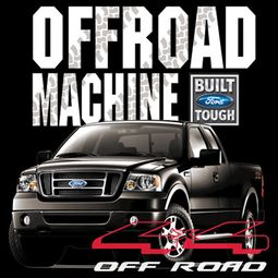 Ford Truck T- shirts - F-150 4X4 Offroad Machine Adult Shirts