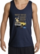 Ford Truck Tank Top - Driving and Tagging Bucks Adult Navy Tanktop