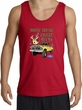 Ford Truck Tank Top - Driving and Tagging Bucks Adult Red Tanktop