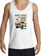 Ford Truck Tank Top - Driving and Tagging Bucks Adult White Tanktop