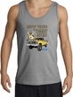 Ford Truck Tank Top Driving and Tagging Bucks Sports Grey Tanktop