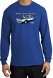 Ford Trucks Long Sleeve Shirt - Man's Best Friend Adult Royal T-Shirt