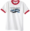 Ford Trucks T-Shirt Mans Best Friend Ringer Tee White/Red