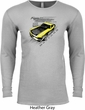 Ford Vintage Yellow Mustang Boss Long Sleeve Thermal Shirt