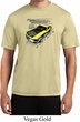 Ford Vintage Yellow Mustang Boss Mens Moisture Wicking Shirt