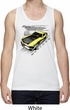 Ford Vintage Yellow Mustang Boss Mens Moisture Wicking Tanktop
