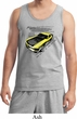 Ford Vintage Yellow Mustang Boss Mens Tank Top