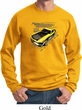 Ford Vintage Yellow Mustang Boss Sweat Shirt