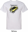 Ford Vintage Yellow Mustang Boss Tall Shirt