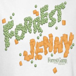 Forrest Gump Peas And Carrots Shirts