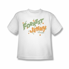 Forrest Gump Shirt Kids Peas And Carrots White Youth Tee T-Shirt